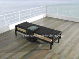 UV-résistant PE-Rattan Folding Outdoor Beach Chaise longue Chaise longue