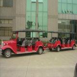 トレーラーRsd-420yが付いている20人の電気観光バス