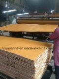 Chapas de madera de construcción con la Plataforma de pino WBP Pegamento B / C Grado