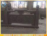 屋外石造りのアジア様式の柵