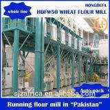 Farine de blé Fraiseuse 10-100t / 24h
