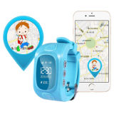 Color intelligent Watch Hidden GPS Tracker pour Children Wt50-Ez