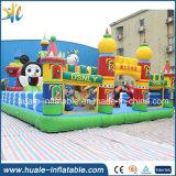 Château gonflable de dessin animé plein d'entrain de jouet de gosses pour le parc d'attractions