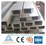 Pièces en aluminium de profil d'extrusion de fabrication d'usine d'OIN en Chine