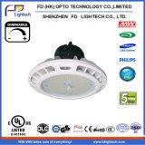 5 Garantie 200W UFO-LED des hohen Bucht-Jahre Licht-IP65 135lm/W für industrielles