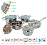 Ensemble de 5 pains Composites Matériaux de cuisson Set Sc159