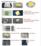 50W Single COB Bridgelux Modern Street LED Lights