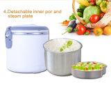 conteneur chauffable et portatif de 1.3L de nourriture avec le bac intérieur d'acier inoxydable
