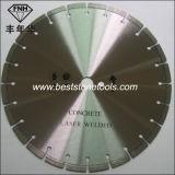 O concreto do laser CB-35 viu a lâmina