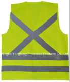 High Visibility Reflective Tapeの全面的なWorkwear/Safety Vest