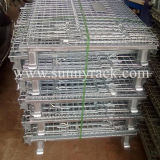 Recipiente galvanizado armazenamento do engranzamento de fio de aço do armazém