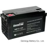 bateria 12V120ah acidificada ao chumbo para o poder solar (NM12-120X)