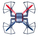 697901c - 2.4GHz 4CH 6 - Axis Gyro 2.0MP Camera RC Quadrocopter RTF Drone