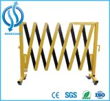 Barrière extensible d'acier et en aluminium de sécurité routière