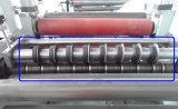 Sticker adesivo Paper Slitting e Rewinding Machine
