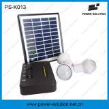 Sistema portatile di energia solare della casa della batteria dello Li-ione con 3bulbs