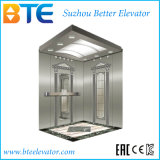 Ascenseur sans engrenages de passager de traction de la CE avec une plus grande taille de cabine