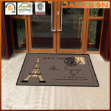 Entrata Welcome Mat, Nylon Chromojet Printing Logo Mats con Rubber Backing