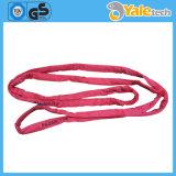 Doppio fattore di sicurezza dell'imbracatura della tessitura del poliestere della piega, imbracatura di sollevamento resistente