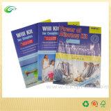 Stampa poco costosa dello scomparto dell'opuscolo del catalogo del libro della Cina Shenzhen con il sacchetto di plastica (CKT-BK-009)