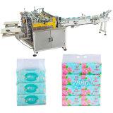 Tecido facial de máquina de papel de tecido de Softpack que envolve a máquina de embalagem