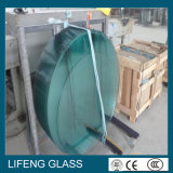 Geformtes Tempered Glass, Furniture Glass mit Polished Edge für Table Glass