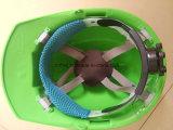 주문을 받아서 만들어진 녹색 안전 헬멧 산업 안전 안전모 Ce/Good와 좋은 안전 헬멧 건축 Helmets/M 모형 유형 안전 헬멧 판매하기