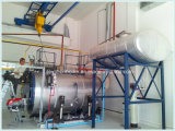 Double carburant 3 pass Fire Tube Emballé Steam Boiler