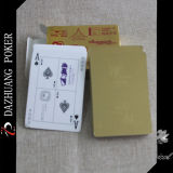 Tarjetas que juegan populares de la hoja de oro