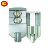 Lámpara ahorro de energía del alumbrado público del LED con diseño de la estructura compacta