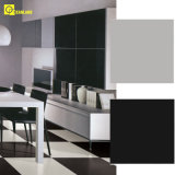 SuperWhite und Black Polished Porcelain Tile