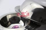 Bacino rotondo spesso dell'acciaio inossidabile (FT-02703)