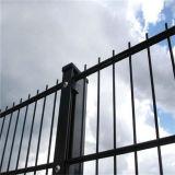 El PVC de la fuente de la fábrica cubrió la cerca soldada seguridad
