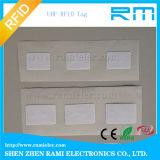 O Tag pequeno Printable RFID da freqüência ultraelevada de RFID etiqueta a etiqueta autoadesiva