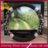 Крышка рулевого колеса PU уникально конструкции картины популярной автоматическая