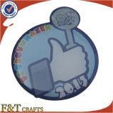 오프셋 인쇄 Pin, 접어젖힌 옷깃 Pin (FTBG014H)