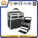 Caso cosmetico di bellezza per trucco con il blocco per grafici di alluminio (HB-1302)