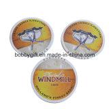 Coaster quadrado personalizado do copo da esteira do papel de algodão