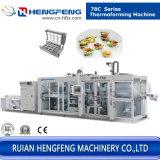 Behälter-Tellersegment-Kasten PlastikThermoforming Maschine