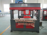 Hydraulische beweglicher Kopf-stempelschneidene Maschine