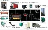 Die 85% Leistungsfähigkeit feuerte horizontale Dzl 2000kg 6000kg Dampfkessel-Kohle ab