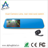 4.3 Zoll Novatek 96223 720p verdoppeln Auto-Flugschreiber der Kamera-HD