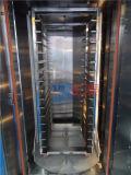 回転式回転式ガスの対流ラックReckのベーキングピザパン32の皿のオーブン(ZMZ-32M)