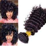8A Grade Deep Wave brasilianisches Virgin Hair Weaves
