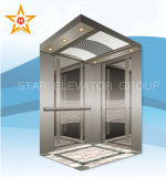 Fluggast Lift Elevator mit Mirror Etched Stainless Finish