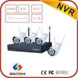 新しいDesign Free Software 1080P 4CH Wireless WiFi NVR Kit