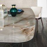 Rebarベース(DT010)が付いている熱い販売の大理石のダイニングテーブル