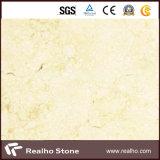 高品質の磨かれた日光のクリームのベージュ大理石の平板