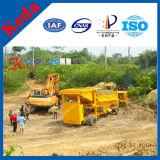 Machine d'extraction de l'or d'écran de trommel d'or de la Chine (KDTJ-50)