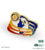 Morire i distintivi impressionanti di Pin del risvolto con la corona (XD-B09)